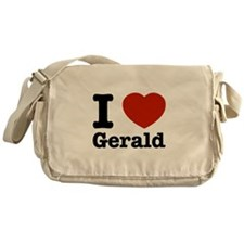 I love Gerald Messenger Bag