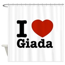I love Giada Shower Curtain