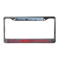 Scenic Liverpool License Plate Frame