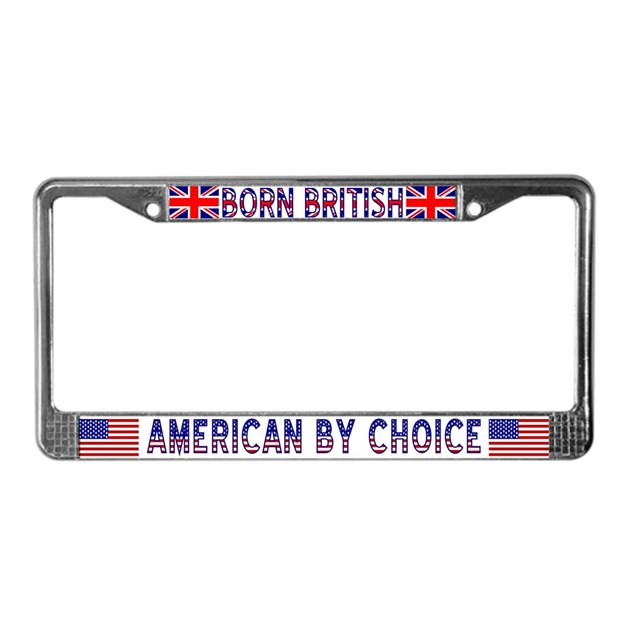 Born British American By Choice Lic Fr By Ameriwear