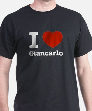 I love Giancarlo T-Shirt