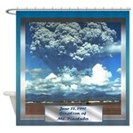 Mt. Pinatubo Shower Curtain