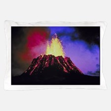 Volcanos Pillow Case