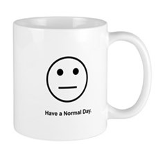 Straight face Mug