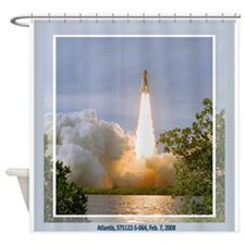 STS 122 Shower Curtain