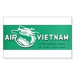 Air Vietnam Sticker (Rectangle 50 pk)
