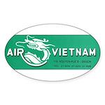 Air Vietnam Sticker (Oval 50 pk)