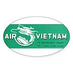 Air Vietnam Sticker (Oval)