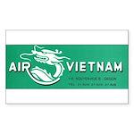 Air Vietnam Sticker (Rectangle)