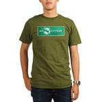 Air Vietnam Organic Men's T-Shirt (dark)