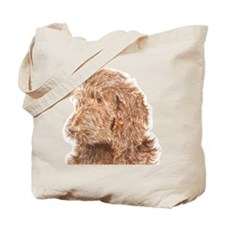 Chocolate Labradoodle 5 Tote Bag