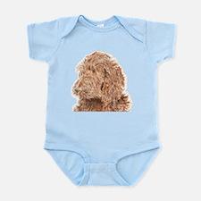 Chocolate Labradoodle 5 Infant Bodysuit