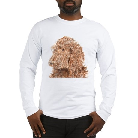 Chocolate Labradoodle 5 Long Sleeve T-Shirt