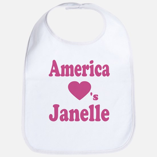 America Loves Janelle Bib