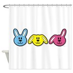 Bunnies Shower Curtain