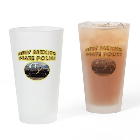 New Mexico State Police Drinking Glass
