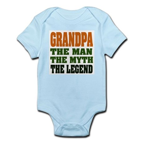Grandpa The Legend Body Suit
