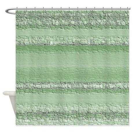 Neutral Green Shower Curtain By Outofdomsmind