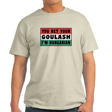 Funny Hungarian Goulash Light T-Shirt