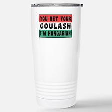 Funny Hungarian Goulash Stainless Steel Travel Mug