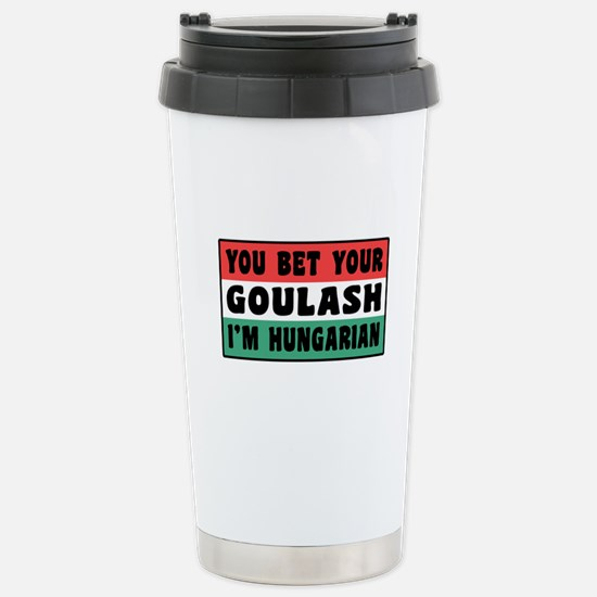 Funny Hungarian Goulash Stainless Steel Travel Mug