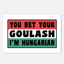 Funny Hungarian Goulash Postcards (Package of 8)