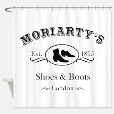 Moriarty's Shoe Shop Shower Curtain