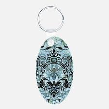 Blue Bee Garden Keychains