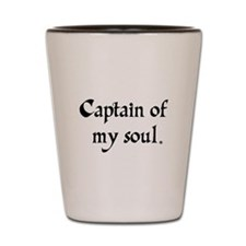 captain of my soul Shot Glass