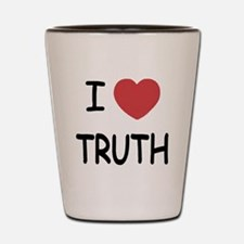 I heart truth Shot Glass