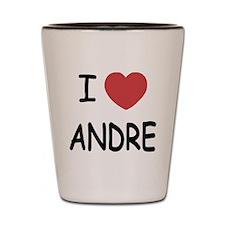 I heart Andre Shot Glass