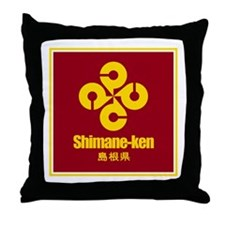"""Shimane-ken"" Throw Pillow"