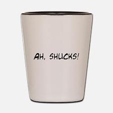 ah shucks Shot Glass