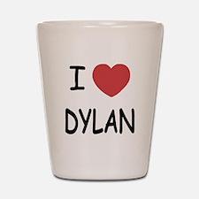 I heart dylan Shot Glass