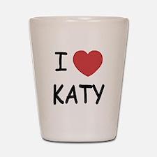 I heart Katy Shot Glass