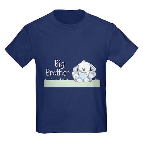 Bunny Big Brother Kids Dark T-Shirt