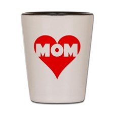 love mom Shot Glass
