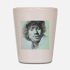 Rembrandt Shot Glass