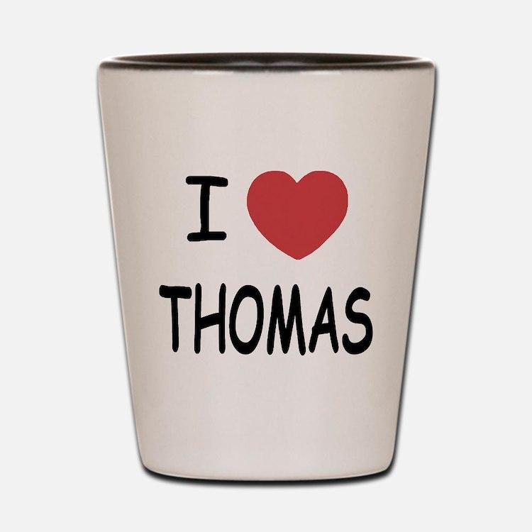 I heart Thomas Shot Glass