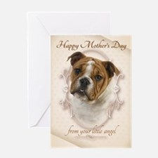 Funny Bulldog Mother's Day Card