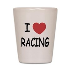 love racing Shot Glass
