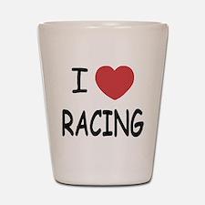 love racing Shot Glass