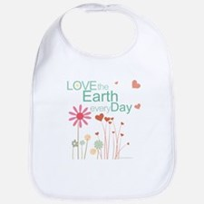 Love the Earth Cotton Baby Bib