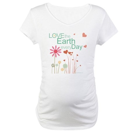 Love the Earth Maternity T-Shirt
