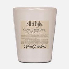 Bill of Rights Shot Glass