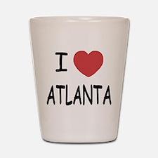 I heart Atlanta Shot Glass