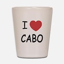 I heart Cabo Shot Glass