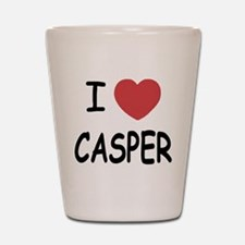 I heart Casper Shot Glass