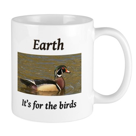Earth is For Ducks Mug