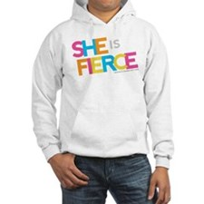 She is Fierce - Color Merge Hoodie